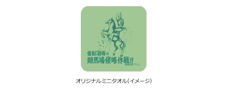 オリジナルミニタオル(イメージ)