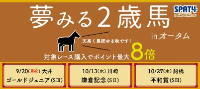 夢みる2歳馬 inオータムキャンペーン