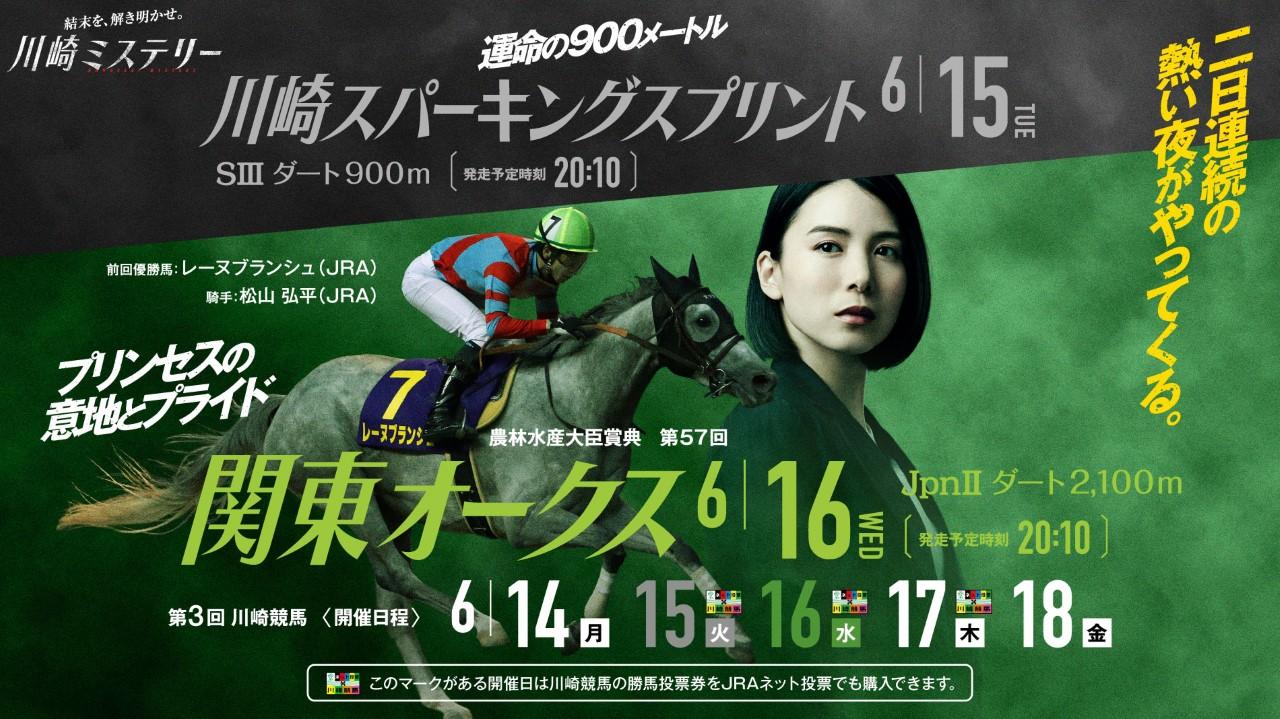 第3回開催川崎スパーキングスプリント、関東オークス