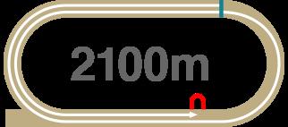 2100m